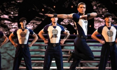 Tänzergruppe bei Lord of the Dance von Michael Flatley