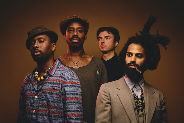 Portrait der Band Sons of Kemet